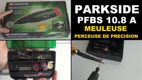 parkside pfbs 10 8 a1 meuleuse perceuse de precision lidl. Black Bedroom Furniture Sets. Home Design Ideas